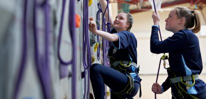 Image related to Year 10 GCSE PE Climbing Day